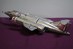 XF926 Airplane Tin  Air Force Military Toy