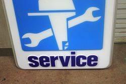 Yamaha Marine Service Advertising Lightbox