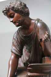 Austrian Classical Cold Painted Bronze Figure