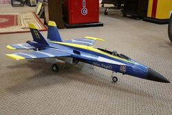 F18 Hornet US Navy Blue Angels Fighter Plane Toy