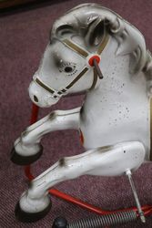 Vintage Mobo and39Prairie Kingand39 Rocking Horse